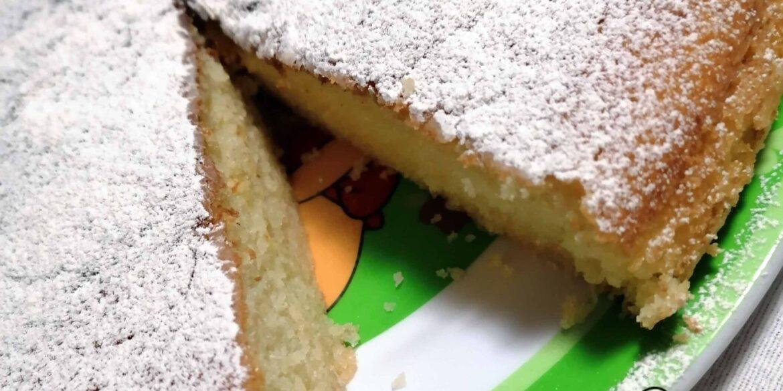 Torta alla vaniglia soffice